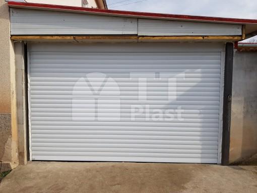 Автоматична гаражна врата – бяла
